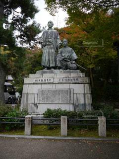坂本龍馬・中岡慎太郎像の写真・画像素材[821368]
