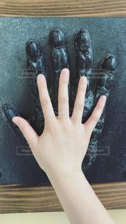 手の大きさ比べの写真・画像素材[1938546]