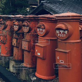 ホラーテイストな郵便ポストの写真・画像素材[1925861]