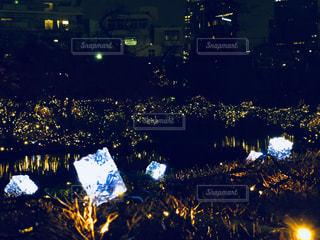 ミッドタウンのクリスマスライトアップの写真・画像素材[1931317]
