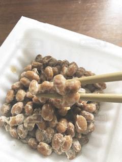 初めての納豆の写真・画像素材[2012299]