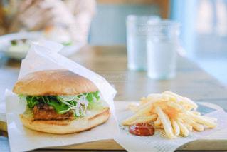 ハンバーガーセットの写真・画像素材[1620289]