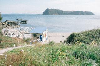春の海の写真・画像素材[1835594]