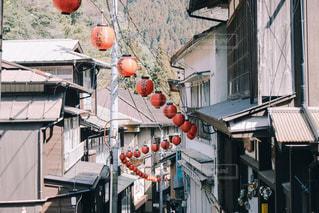 湯平温泉の写真・画像素材[1840065]