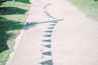 ガーランドの影の写真・画像素材[3218256]