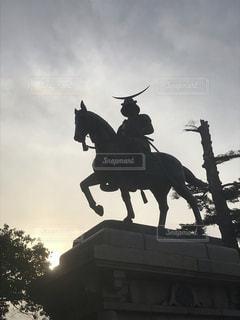 仙台といえば伊達政宗公の写真・画像素材[1966519]