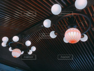 和歌山城内の照明の写真・画像素材[1919571]