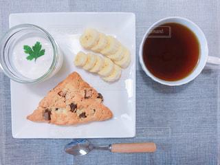 カフェ風朝食の写真・画像素材[1931671]