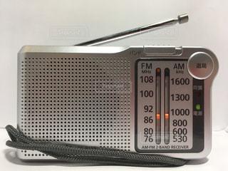 携帯型ラジオの写真・画像素材[1928649]