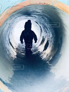 トンネル山の中2の写真・画像素材[1923005]