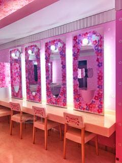 イオンモール成田 キティちゃんのトイレの写真・画像素材[2085336]