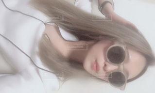 ノーメイクなのでサングラス♡の写真・画像素材[2029254]