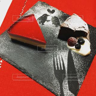 バレンタインケーキの写真・画像素材[1926883]