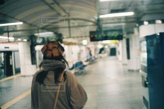 地下鉄の駅の人の写真・画像素材[1937049]