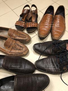 革靴👞磨きの写真・画像素材[1979465]