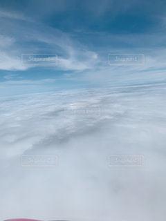雲の上の写真・画像素材[2282133]