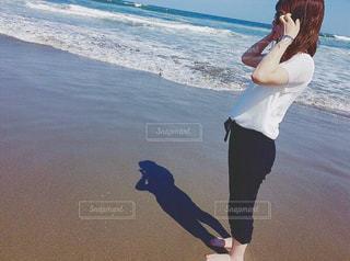 海でお散歩の写真・画像素材[1951160]