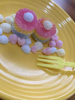 グミで作ったケーキ♡の写真・画像素材[3790958]