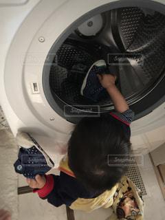 洗濯する気ですか!?笑の写真・画像素材[1995177]