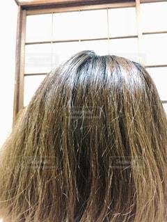 髪の毛ですの写真・画像素材[2122662]