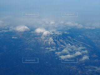 飛行機からの日本の写真・画像素材[1958174]