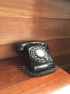 黒電話の写真・画像素材[292579]