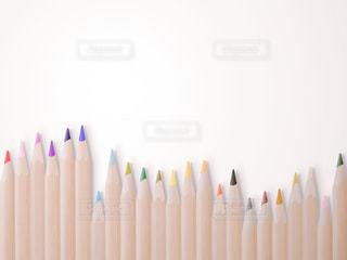 カラフルな色鉛筆の写真・画像素材[2269043]