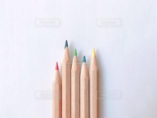 カラフルな色鉛筆の写真・画像素材[2270995]