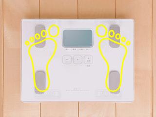 体重計の写真・画像素材[2282293]