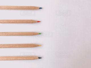 カラフルな色鉛筆の写真・画像素材[2289852]