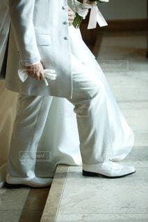 結婚式の二人の写真・画像素材[1940235]