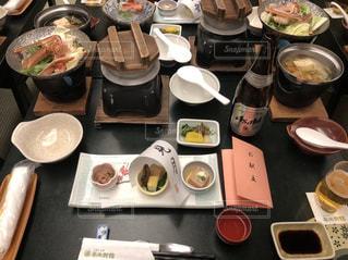 三朝温泉の食事の写真・画像素材[1964443]