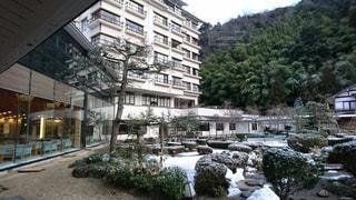 三朝温泉の旅館の写真・画像素材[1964444]