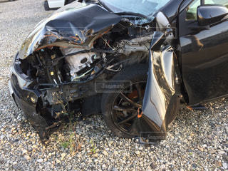 事故車の写真・画像素材[2677730]