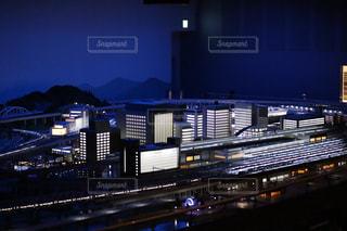 ジオラマ夜景の写真・画像素材[2240846]
