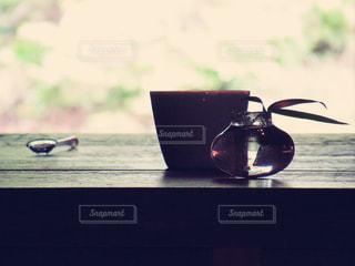 夕方喫茶の写真・画像素材[2214823]