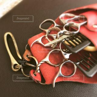美容師さんの七つ道具!!の写真・画像素材[1945072]