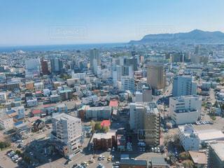 北海道の街並・山・海の写真・画像素材[2152366]