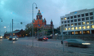 フィンランド ヘルシンキの街並みの写真・画像素材[1972629]