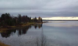 北極圏の風景の写真・画像素材[1980371]