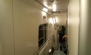サンタクロース列車の写真・画像素材[1980373]