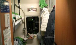 サンタクロース列車の写真・画像素材[1980376]
