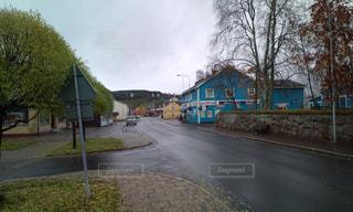 スェーデンの街並みの写真・画像素材[1980387]