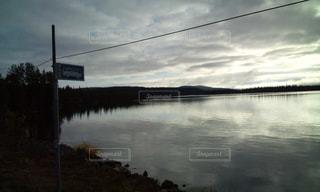 北極圏の風景の写真・画像素材[1980395]