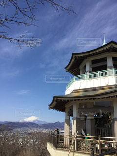 弘法山からの富士山の写真・画像素材[1965635]