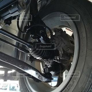 車のドライブシャフト周辺の写真・画像素材[2547465]