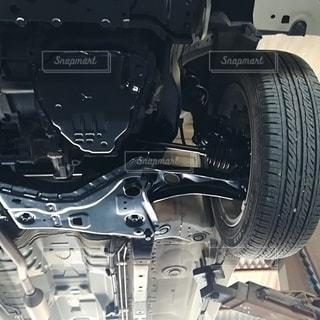 エンジンのクローズアップの写真・画像素材[2547460]