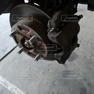 ブレーキの写真・画像素材[2547456]