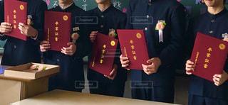 卒業証書の写真・画像素材[1956955]