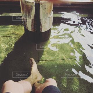 足湯の写真・画像素材[1957579]